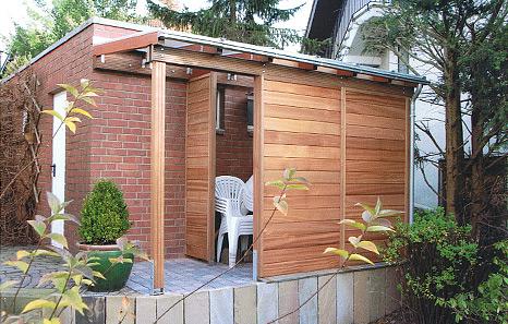 schuppen carpots winterg rten leipacher. Black Bedroom Furniture Sets. Home Design Ideas